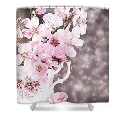 Spring Blossom Shower Curtain by Amanda And Christopher Elwell