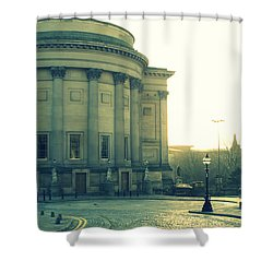 St Georges Hall Liverpool Shower Curtain by Georgia Fowler