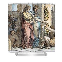 St Peter & St John Shower Curtain by Granger