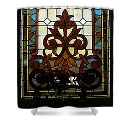 Stained Glass Lc 16 Shower Curtain by Thomas Woolworth