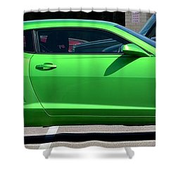 Standing Out In A Crowd Shower Curtain by Maria Urso