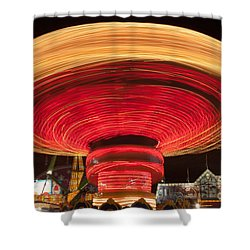State Fair Vii Shower Curtain by Clarence Holmes