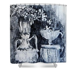 Still Life With Vases Shower Curtain by Jolante Hesse