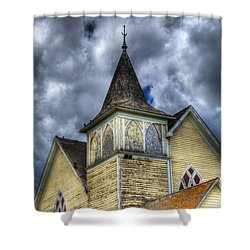 Stormy Times Shower Curtain by Bob Christopher