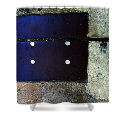 Streets Of New York Abstract Four Shower Curtain by Marlene Burns