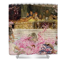 Study For The Roses Of Heliogabulus Shower Curtain by Sir Lawrence Alma-Tadema