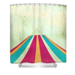 Summer Fun II Shower Curtain by Darren Fisher