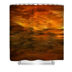 Summer's Hymns Shower Curtain by Lourry Legarde