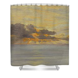 Sunset Shower Curtain by John Brett