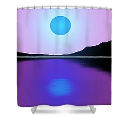 Sunset No. 4 Shower Curtain by George Pedro