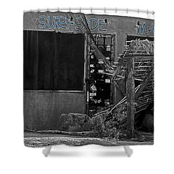 Surfside Market Shower Curtain by Cheryl Young