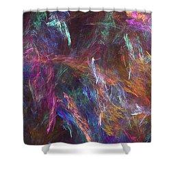 Surtido Shower Curtain by RochVanh