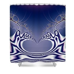 Swan Lake Ballet . S7 Shower Curtain by Wingsdomain Art and Photography