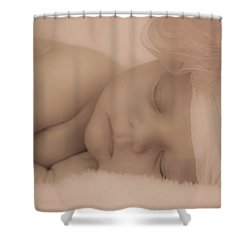 Sweet Dreams Shower Curtain by Trish Tritz