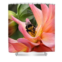 Sweet Nectar Shower Curtain by Rory Sagner