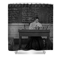 Teachers Rules  Shower Curtain by Jerry Cordeiro