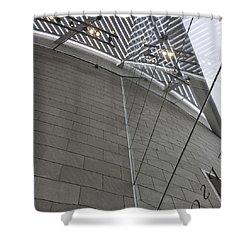 Telfair Glass And Louver Details Shower Curtain by Lynn Palmer