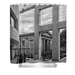Telfair's Jepson Center Lobby Shower Curtain by Lynn Palmer