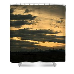 Terminous Shower Curtain by James Heckt