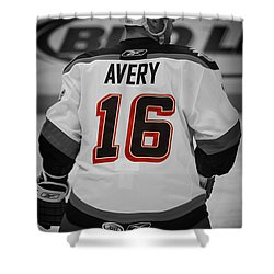 The Avery Shower Curtain by Karol Livote
