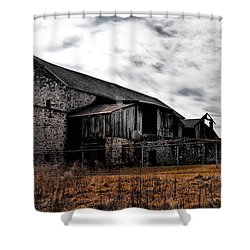 The Barn At Pawlings Farm Shower Curtain by Bill Cannon