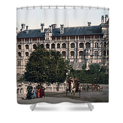 The Castle In Blois - France Shower Curtain by International  Images
