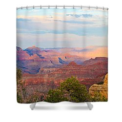 The Colors Of The Canyon Shower Curtain by Heidi Smith