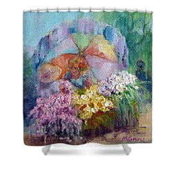 The Gift Shower Curtain by Marie Green