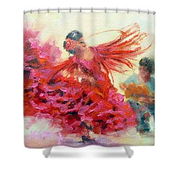 The Gypsy Shower Curtain by Marie Green