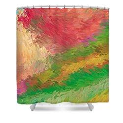 The Journey Shower Curtain by Deborah Benoit
