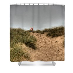 The Lifebelt 2 Shower Curtain by Steve Purnell