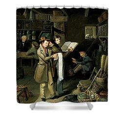 The Long Bill Shower Curtain by James Henry Beard