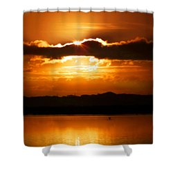 The Magic Of Morning Shower Curtain by Karen Wiles