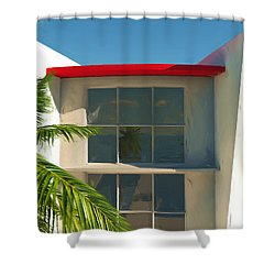 The Old Bay House Shower Curtain by Richard Rizzo