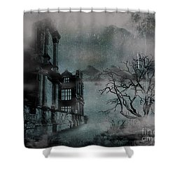 The Old Ruins Shower Curtain by Cheryl Young