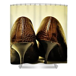 The Pair Shower Curtain by Bill Cannon