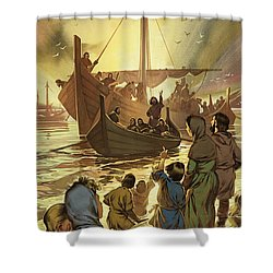 The Parting Shower Curtain by Angus McBride