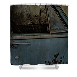The Passenger  Shower Curtain by Jerry Cordeiro