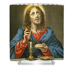 The Redeemer Shower Curtain by Carlo Dolci