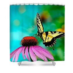 The Return Shower Curtain by Lois Bryan