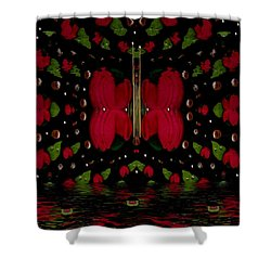 The Sky Is Not The Limit Shower Curtain by Pepita Selles