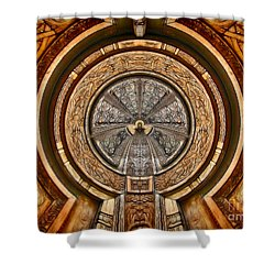 The Turbine - Archifou 63 Shower Curtain by Aimelle