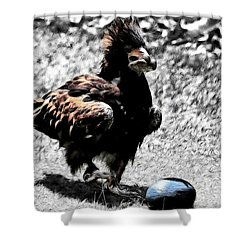 The Use Of Tools Shower Curtain by Douglas Barnard