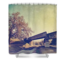 The Way I Felt That Day Shower Curtain by Laurie Search
