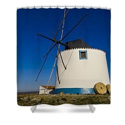 The Windmill Shower Curtain by Heiko Koehrer-Wagner