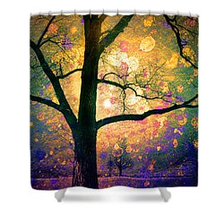 These Dreams Shower Curtain by Tara Turner