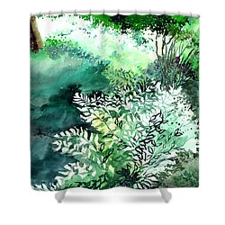 Touch Of Light 1 Shower Curtain by Anil Nene