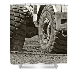 Traction Shower Curtain by Patrick M Lynch