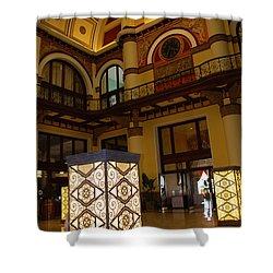 Trainstation Hotel Nashville Shower Curtain by Susanne Van Hulst