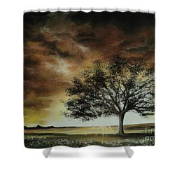 Tree Of Life Shower Curtain by Carla Carson